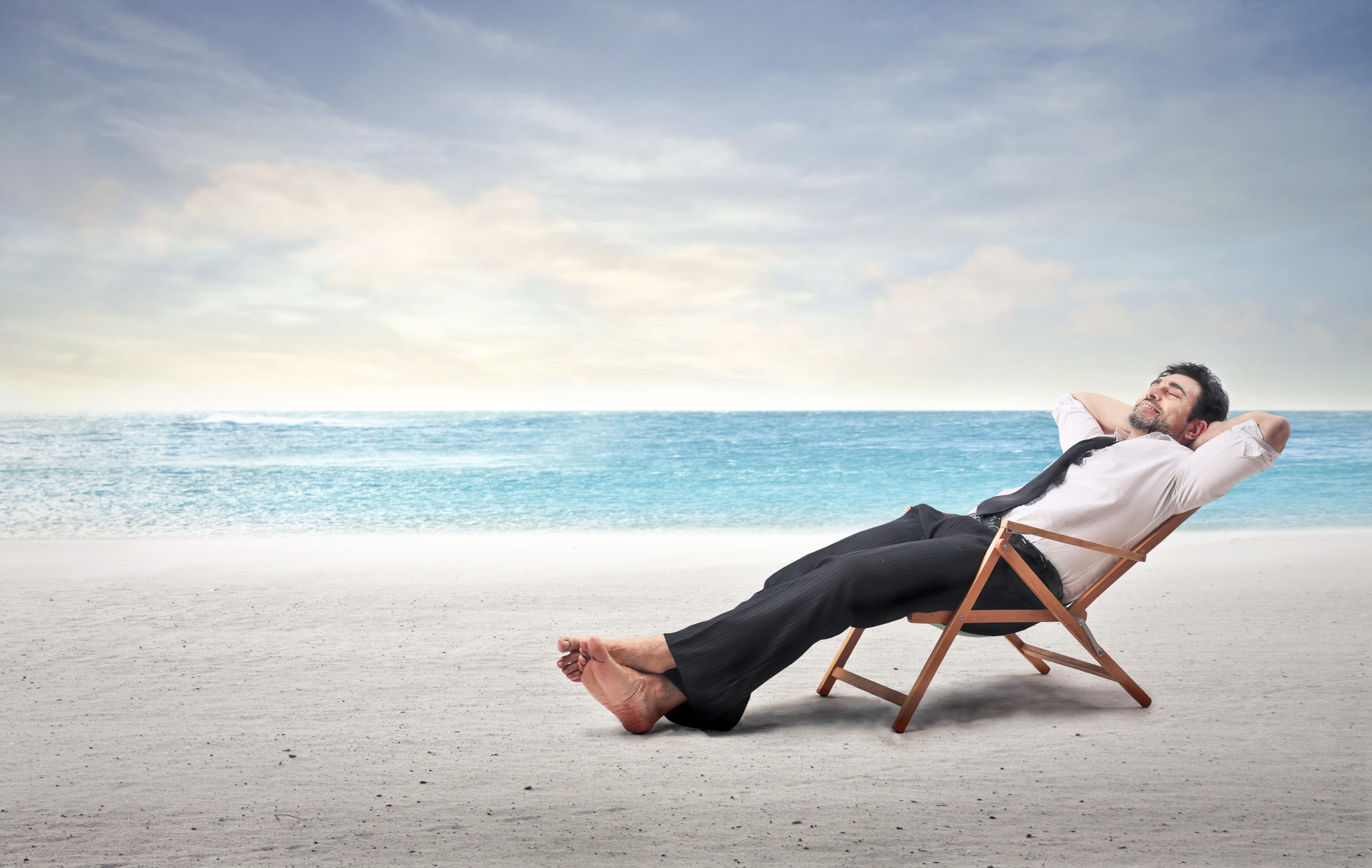 genießen, Auszeit, Zeitmillionär, Leben, Genuss, Erfolg, Freizeit, Urlaub, Pause, Mittagspause, Büro, Bürojob, Ferien, Frei, Urlaub